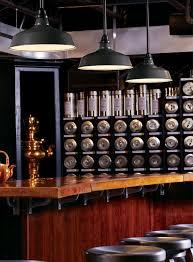 vintage originals lighting portfolio vintage enamel shade pendants lighting restaurant bar image