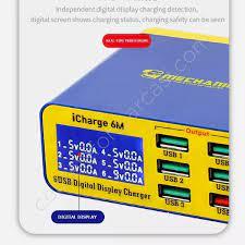 Icharge 6M Qc 3.0 Usb Akıllı Şarj Desteği Hızlı Şarj İçin İphone İçin Lcd  Ekran İle Huaweı Xıaomı Fiyatı - Taksit Seçenekleri