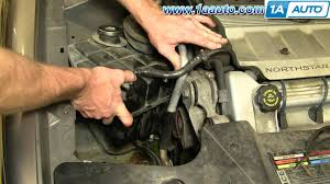 how to install replace radiator coolant tank cadillac deville how to install replace radiator coolant tank cadillac deville northstar 96 99 1aauto com