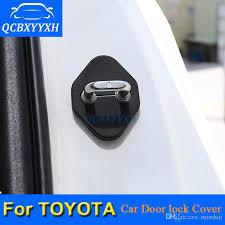 cool door locks. Car Door Lock Protective Cover For Toyota Corolla Camry Highlander Vios Rav4 Prado Decoration Auto Cool Accessories Automotive Locks