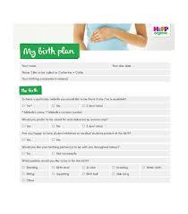Birthing Plan Template 47 Printable Birth Plan Templates Birth Plan Checklist