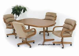 kitchen chairs on casters great caster dining room chairs in dining room chairs on wheels