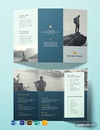 Travel Brochure Cover Design Free Travel Brochure Template Word Psd Indesign
