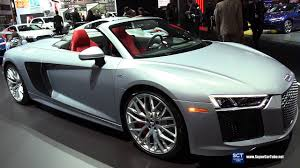 2018 audi r8. simple audi 2018 audi r8 v10  exterior and interior walkaround 2017 new york auto  show inside audi r8 2