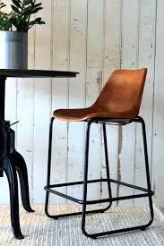 brown leather bar stools. Leather Kitchen Stools Counter With Backs Elegant Incredible . Brown Bar