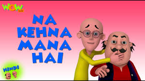 na kehna mana hai motu patlu in hindi 3d animation cartoon for kids hd as seen on nickelodeon you