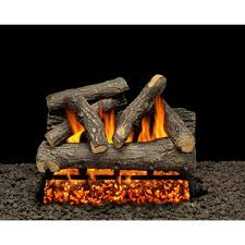 roaring campfire gas log set vented