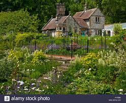 The Kitchen Garden The Kitchen Garden At Thornbridge Hall A Country House Near Great