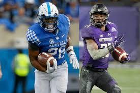 College Football Bowls Kentucky Wildcats Vs Northwestern