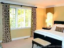 bedroom bay window curtains window curtains for bedroom bay window ideas bedroom small bedroom window treatments bedroom bay window