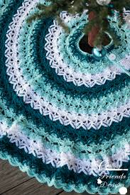 Christmas Tree Skirt Crochet Pattern New Beautifully Textured Christmas Tree Skirt Crochet Pattern By
