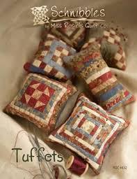 Tuffets Pincushions Pattern Designer Miss Rosie's Quilt Co. - Size ... & Tuffets Pincushions Pattern Designer Miss Rosie's Quilt Co. - Size 4