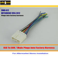 aftermarket stereo wiring harness promotion shop for promotional Aftermarket Stereo Wiring Harness Adapters car wiring harness for mitsubishi mirage montero outlander car stereo adapter connector plugs into factory harness aftermarket radio wiring harness adapter