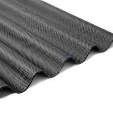 corrugated bitumen sheet black