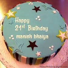 Birthday Cake Images Manish Nangguk Sticker