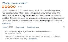 Careers Booster Reviews Resumewriters Reviews