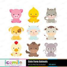 baby farm animals clip art. Simple Art Baby Farm Animal Clipart 1 On Animals Clip Art O