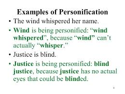 poetry terms examples ppt video online  8 examples of personification