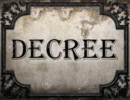 「Presidential Decree word」の画像検索結果