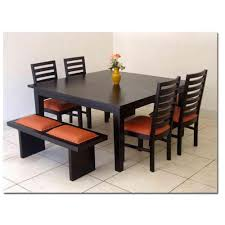 glass dining table sets india. dining tables, charming black square modern wooden table set stained design: elegant cheap glass sets india l
