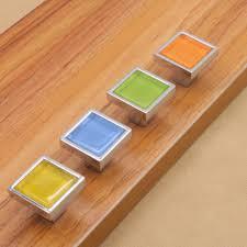 Kitchen Cabinet Drawer Pulls Popular Porcelain Drawer Handles Buy Cheap Porcelain Drawer