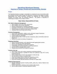 Warehouse Job Description Resume Sample Warehouse Associate Job Description Resume Objective Examples For 10