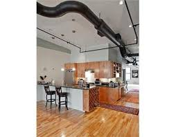 obsessed with exposed duct work especially painted black this would be awesome in the awesome black painted