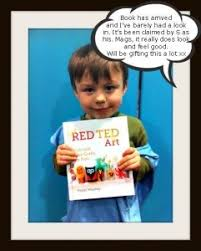 red ted art here e the s craft book for kids boys will be boys