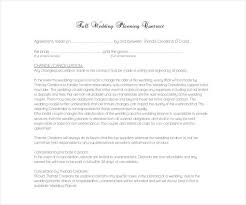 Free Wedding Planner Contract Templates Florist Contract Template Download Same Day Flower Delivery