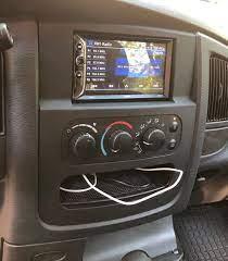 02 05 Dodge Ram Stereo Install Dash Kit Dodge Ram 1500 Accessories Dodge Ram 1500 Dodge Ram