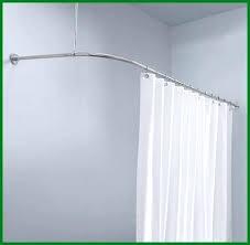 ceiling shower curtain rail luxury shower curtain rail l to ceiling straight ceiling mounted shower curtain