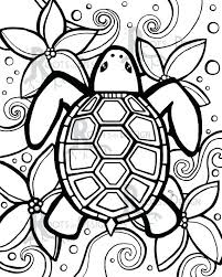instant coloring page simple turtle inspired instant coloring page simple turtle inspired doodle art coloring