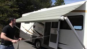 rv awning tie down diy electric downs kit spring ideas