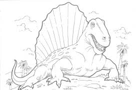 Easy Realistic Dinosaurs Coloring Pages 6292 Realistic Dinosaurs