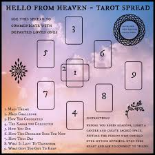 the o from heaven tarot spread a spread for umship