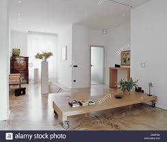 old modern furniture. Modern Living Room With Old Furniture And Resin Floor C
