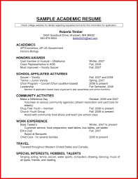 New Academic Cv Template Word Wing Scuisine