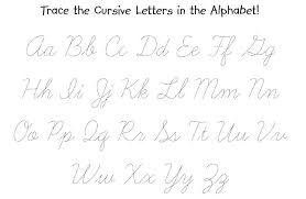 Cursive Writing A To Z Worksheets Custom Paper Service Create ...