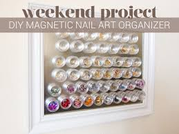 DIY Project: Magnetic Nail Art Organizer | Magnetic nails ...