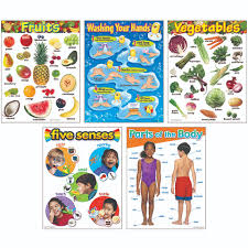 Healthy Living Chart Healthy Living Learning Charts