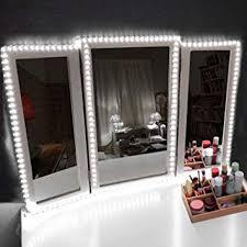 Image String Lights Led Vanity Mirror Lights Kit Makeup Mirror Light Strip For Vanity Dressing Table Amazoncom Amazoncom Led Vanity Mirror Lights Kit Makeup Mirror Light Strip