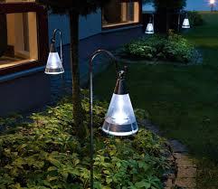 set of assisi 7632 solar powered garden lights