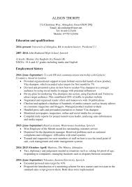 Graduate Cv Examples Magdalene Project Org