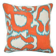 orange accent pillows. Kazak Accent Designer Pillow - Oomphonline | Carrie Main Area Red/orange White Pinterest And Pillows Orange Z