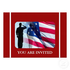 patriotic invitations templates 15 best military retirement invitation template images on pinterest