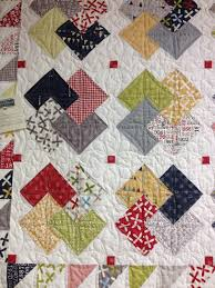 Card Trick Quilt Pattern Best Card TrickI Love The Bits Of Red In The White Background This