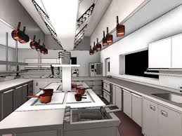 Kitchen Design For Restaurant Interesting Decoration