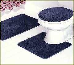 crochet bathroom rug designer mats cotton trim bath rugs modern