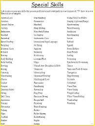 List Of Good Skills To Put On A Resume Mesmerizing What Are Some Good Skills To Put On A Resume List Sample 28