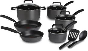Non Stick Kitchen Appliances Amazoncom T Fal D913sc Signature Hard Anodized Scratch Resistant